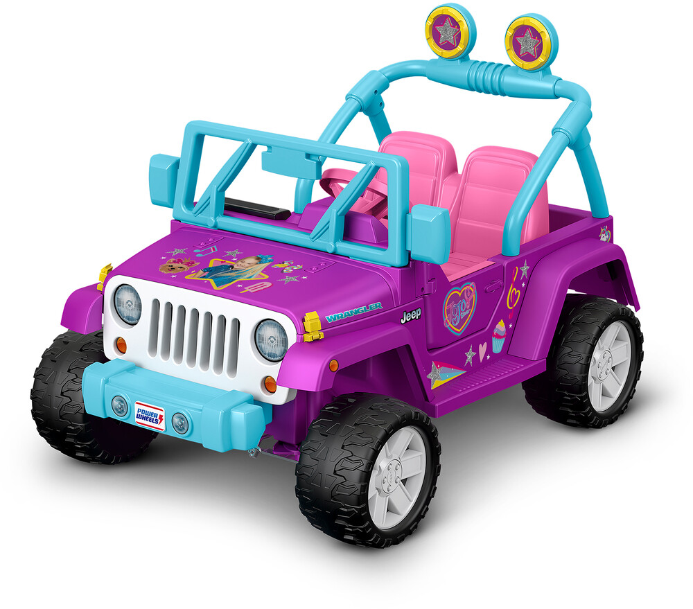 Power Wheels - Power Wheels - Jojo Siwa Jeep Wrangler