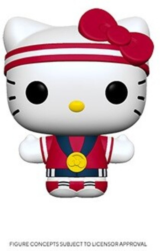 Funko Pop! Sanrio: - FUNKO POP! SANRIO: Hello Kitty Sports Team USA - Gold Medal Hello Kitty