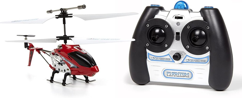 Rc Helicopters - 3.5CHs: Phantom IR Helicopter (One random color per transaction. Colors red, blue or yellow.)