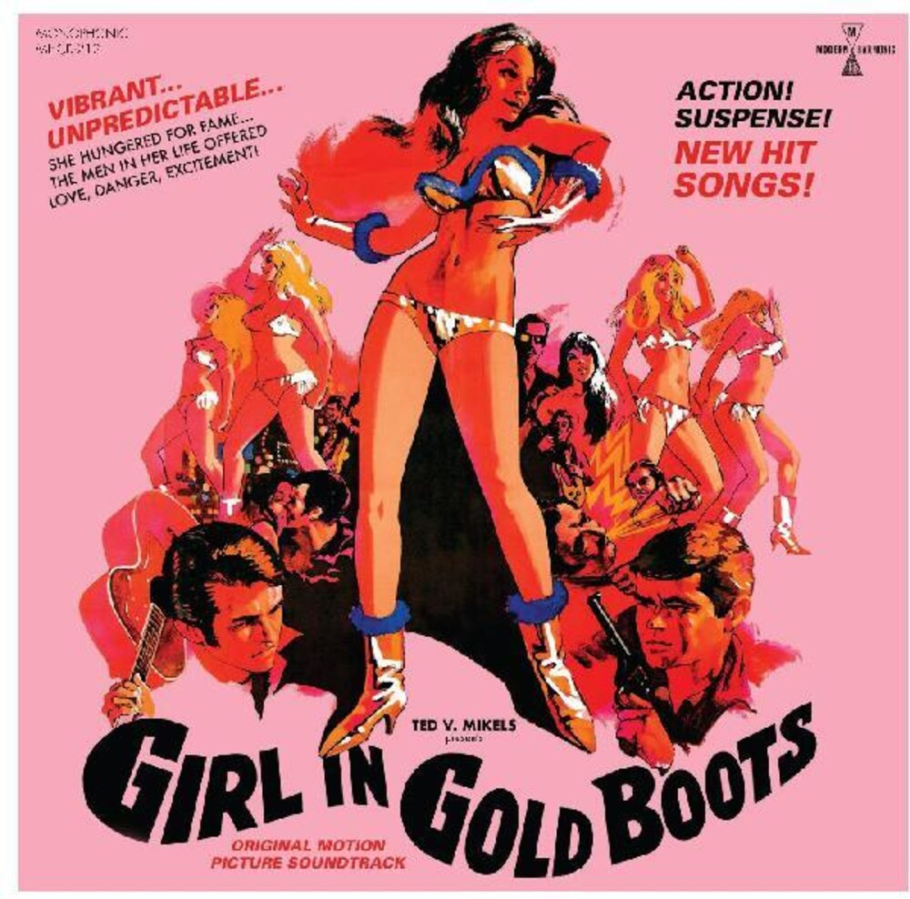 Girl In Gold Boots Original Motion Picture - Girl in Gold Boots (Original Motion Picture Soundtrack)