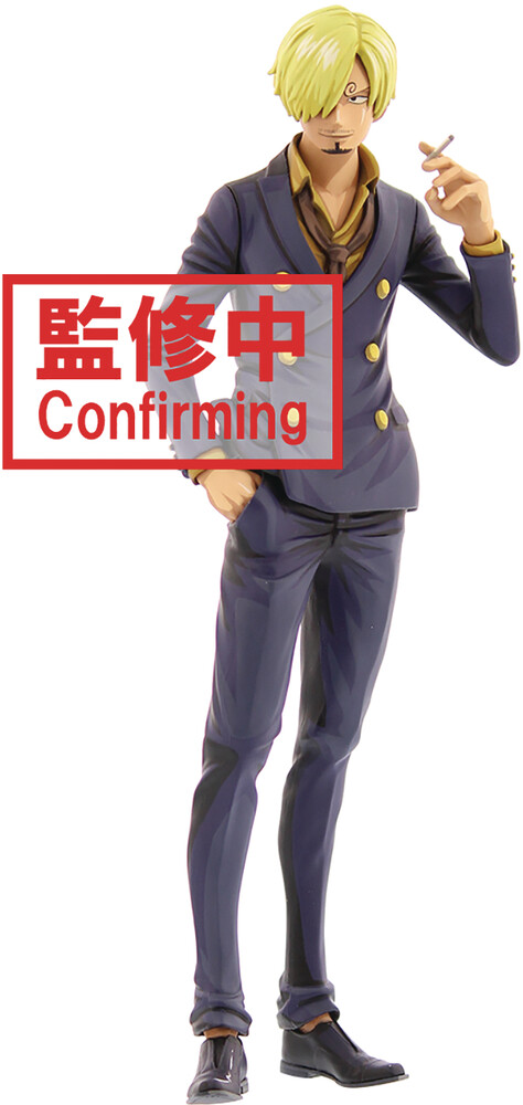 Banpresto - BanPresto - One Piece Sanji Manga Dimensions Grandista Figure