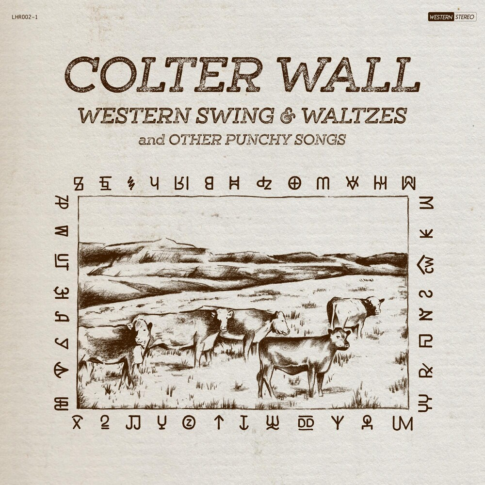 Colter Wall - Western Swing & Waltzes and Other Punch Songs [Indie Exclusive Limited Edition Natural LP]