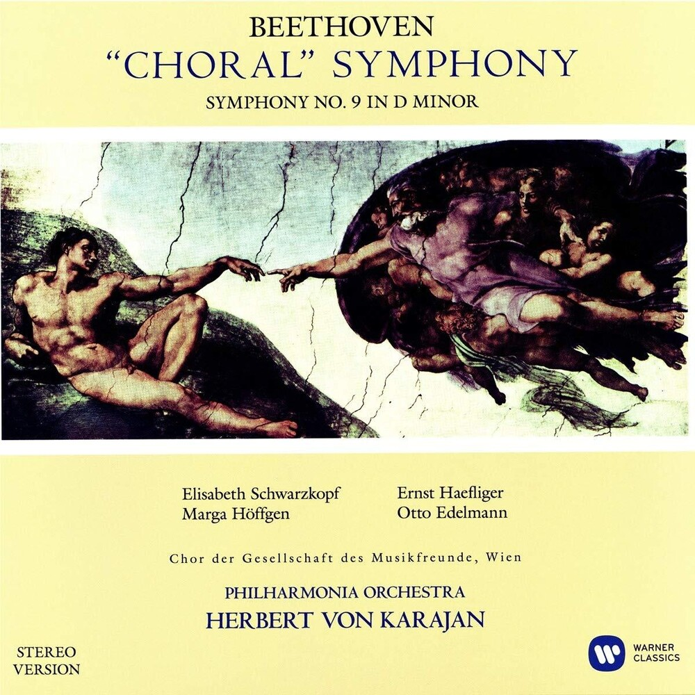 Philharmonia Orchestra / Von Herbert Karajan - Beethoven: Symphony No. 9 (Stereo Version)