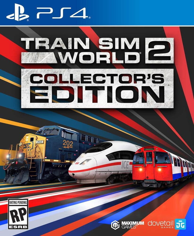 Ps4 Train Sim World 2: Collectors Ed - Train SIM World 2: Collector's Edition for PlayStation 4