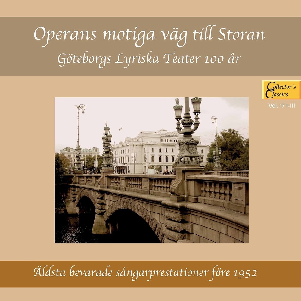 Operans Motiga Vag Till Storan / Various 3pk - Operans Motiga Vag Till Storan