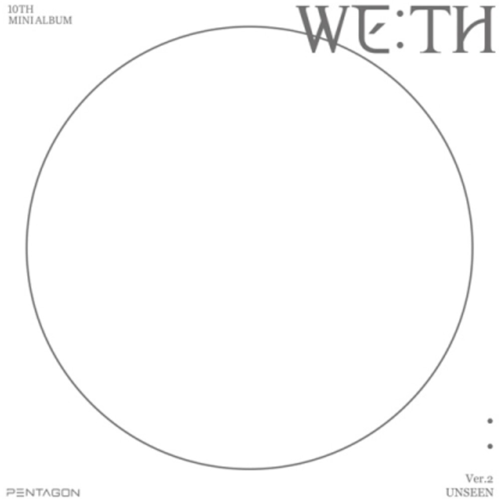 Pentagon - We:Th (Unseen Version) (Stic) [With Booklet] (Phot) (Spkg)