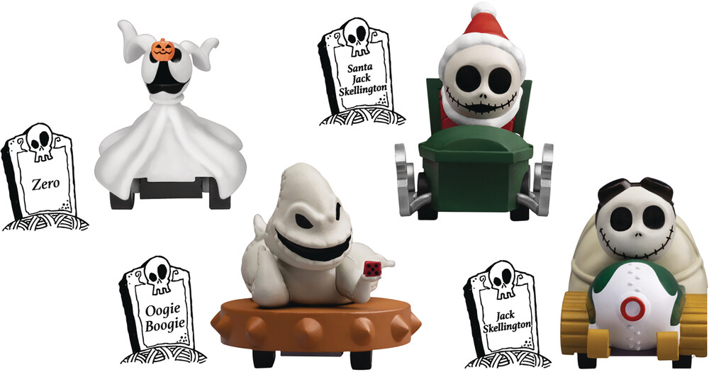 Beast Kingdom - Beast Kingdom - Nightmare Before Christmas Zero Pull Back Car