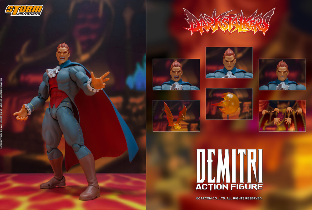Storm Collectibles - Storm Collectibles - Darkstalkers - Demitri Maximoff, StormCollectibles 1/12 Scale Figure