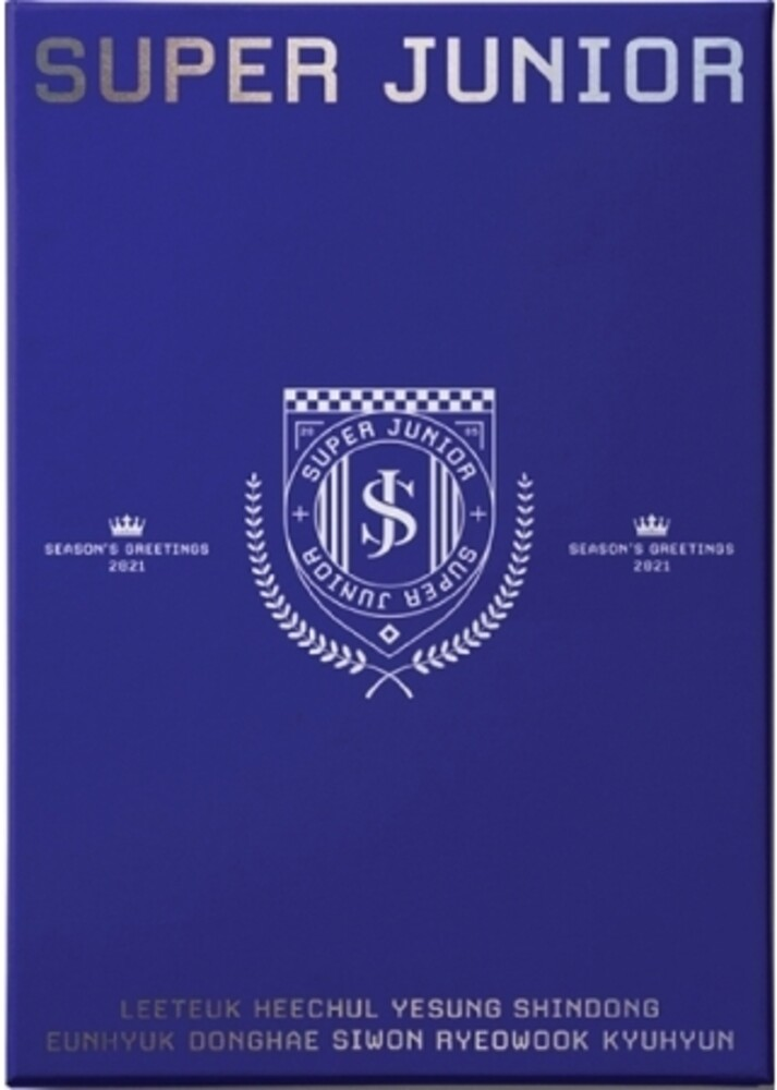 Super Junior - 2021 Season's Greetings (incl. 2021 Desk Calendar, Hard Cover Diary, Frame+Postcard Calendar Set, Folded Poster Calendar Set, St