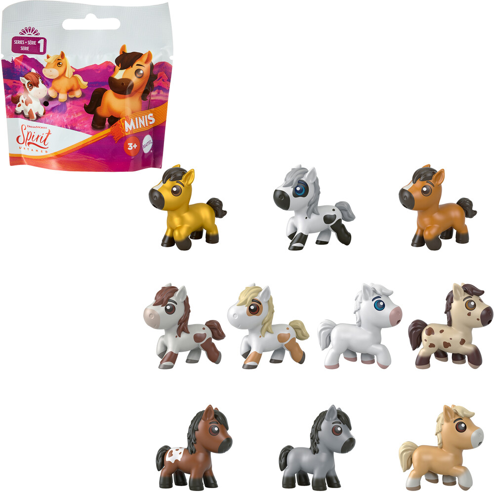 Spirit - Mattel - Spirit Precious Ponies Collectible Assortment