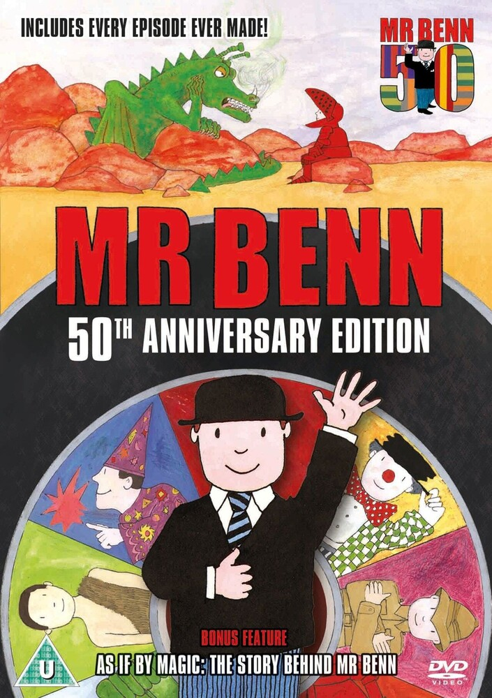 Mr Benn Complete Series: 50th Anniversary Edition - Mr Benn Complete Series: 50Th Anniversary Edition