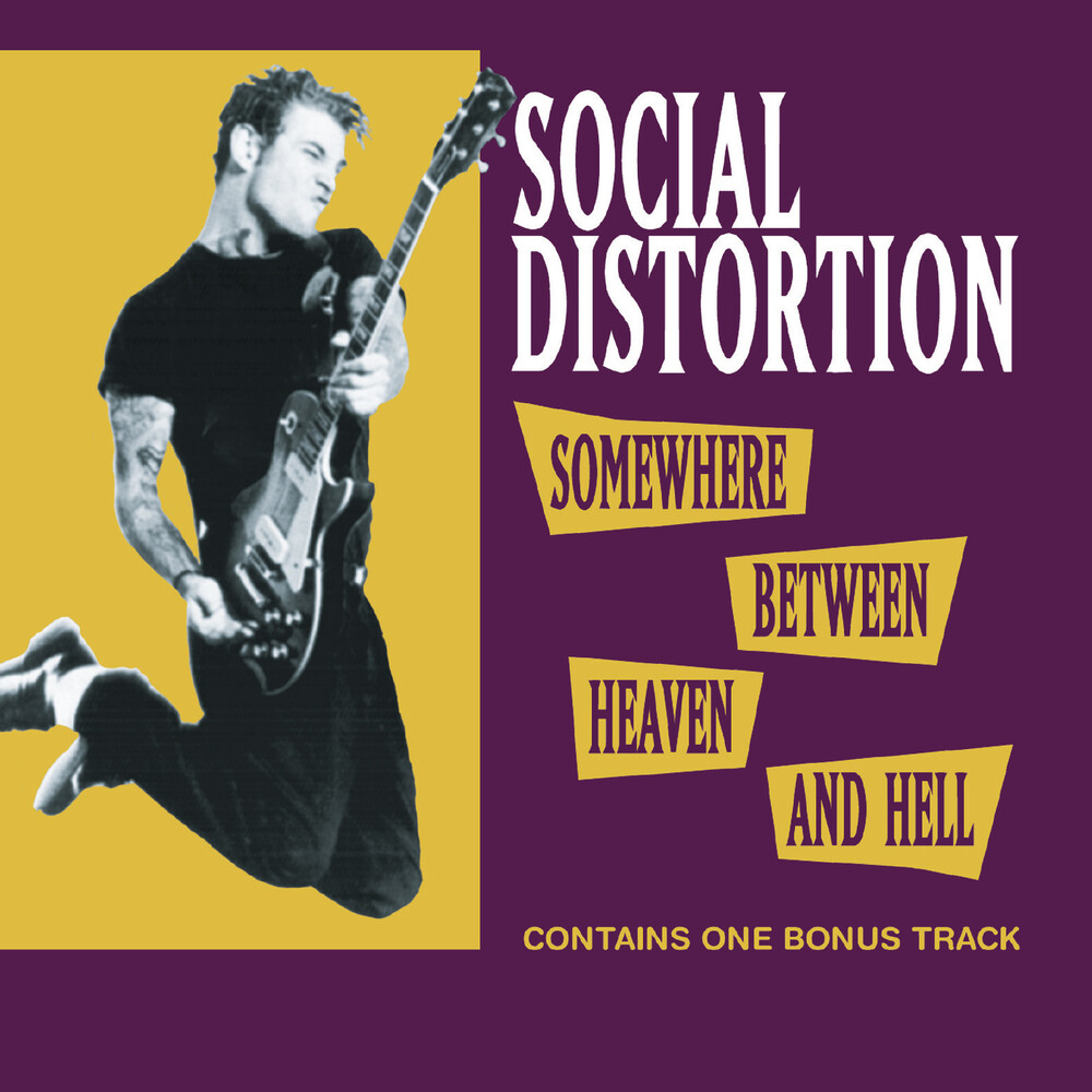 Social Distortion - Somewhere Between Heaven & Hell (Hol)