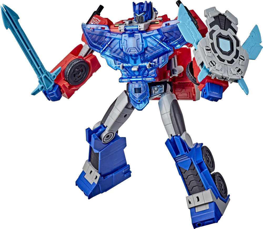 Tra Cyb Battle Call Officer Optimus - Hasbro Collectibles - Transformers Cyberverse Adventures Battle CallOfficer Optimus