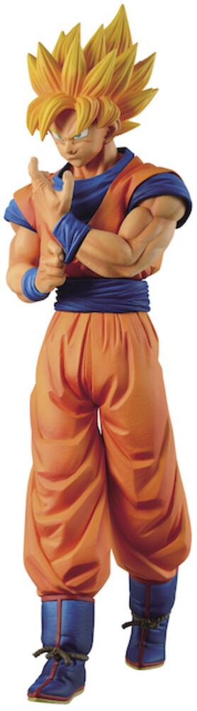 Banpresto - BanPresto - Dragon Ball Z Solid Edge Works vol.1 Super Saiyan Son Goku Figure