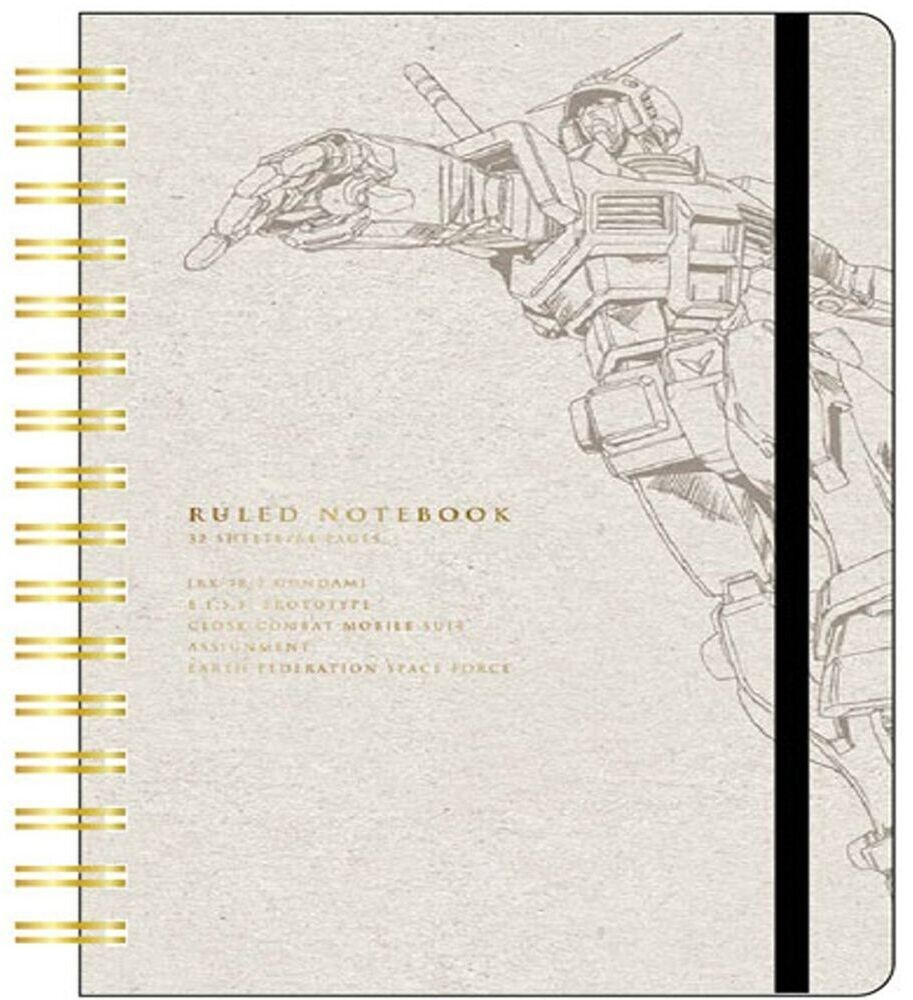 Sun Star - Gundam - Ring Note A6 Stationary RX-78-2