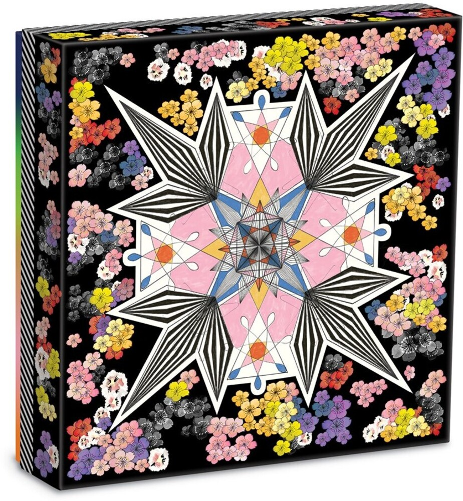 - Christian Lacroix Flowers Galaxy Double Sided 500 Piece Jigsaw Puzzle