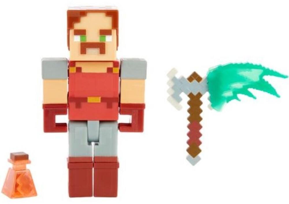 Minecraft - Mattel Collectible - Minecraft Dungeons 3.25 Hal