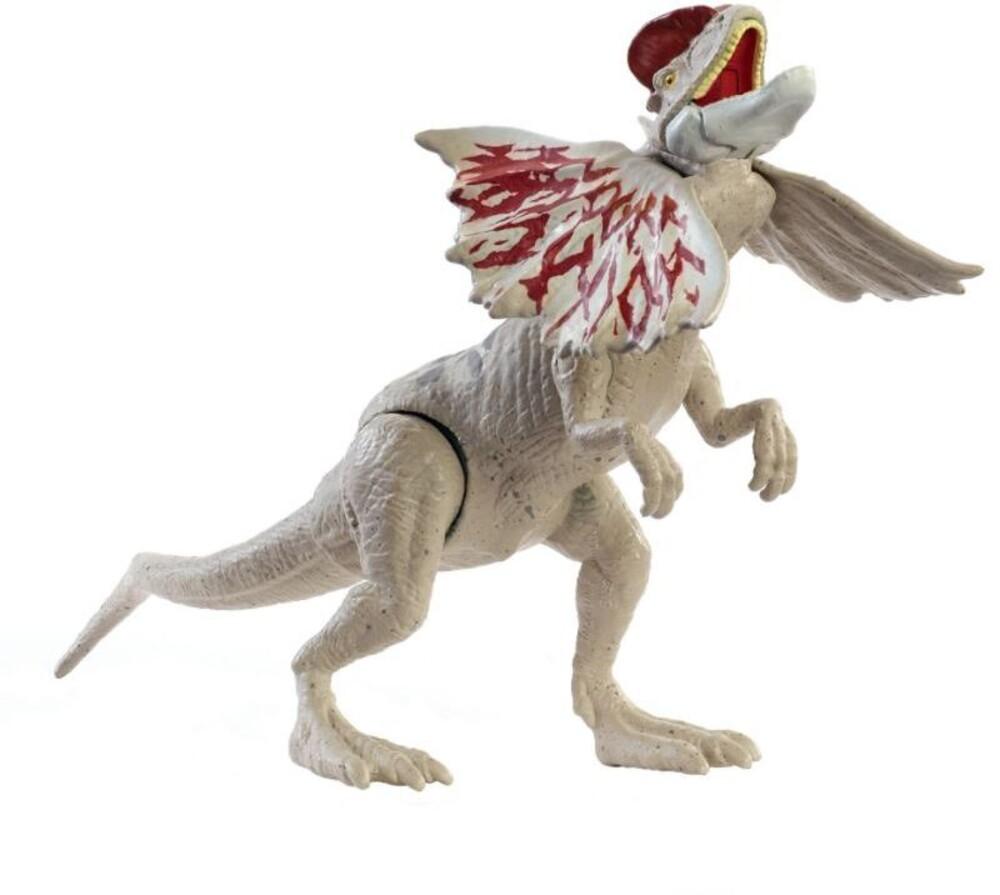Jurassic World - Mattel - Jurassic World Fierce Force Dilophosaurus