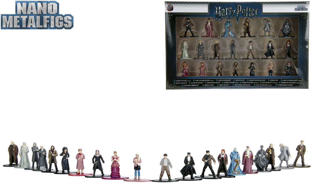- Nano Metalfigs Harry Potter 20 Pk Wave 2 (Clcb)