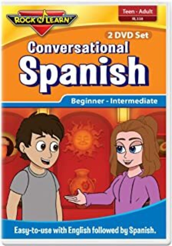 - Conversational Spanish For Teens & Adults (2pc)