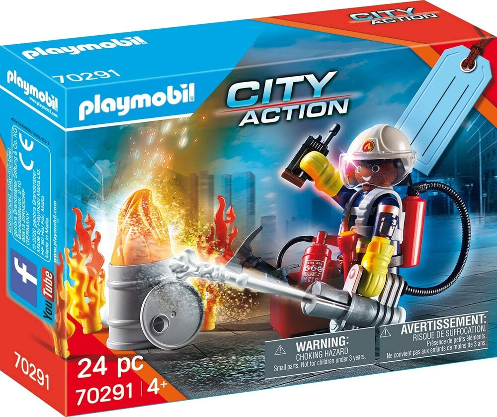 - City Action Fire Rescue Gift Set (Fig)