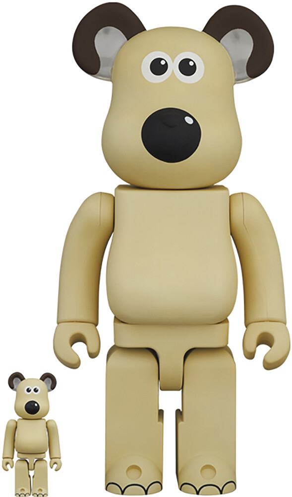 - Wallace And Gromit Gromit 100% & 400% Bea 2pk