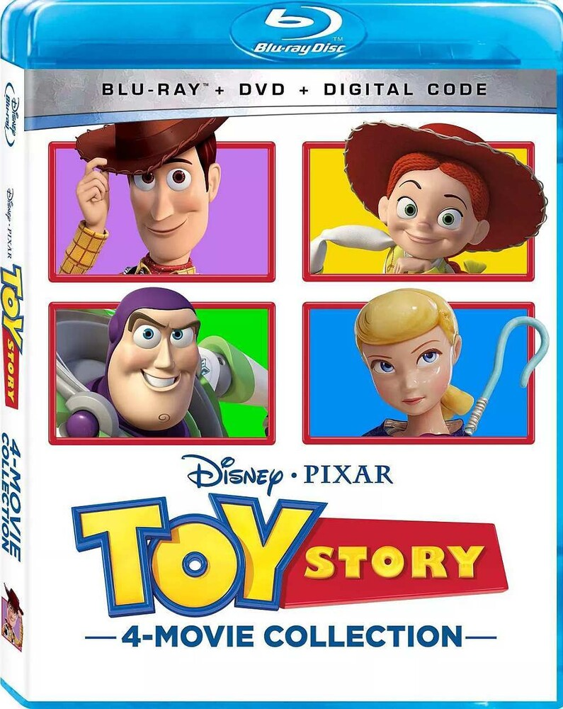- Toy Story: 4-Movie Collection (10pc) (W/Dvd)