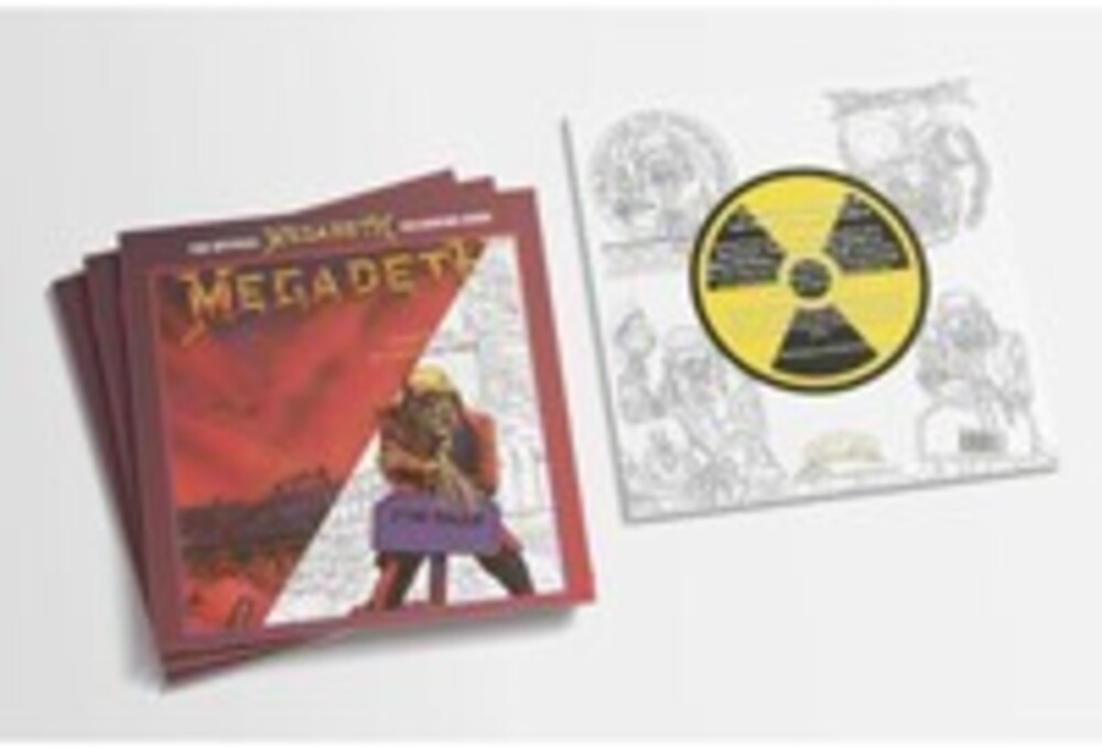 - Official Megadeth Coloring Book