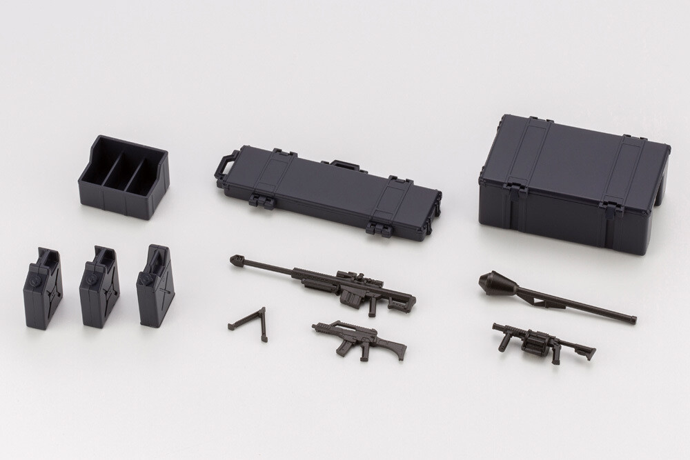 - Hexa Gear - Army Container Set Night Stalkers Ver