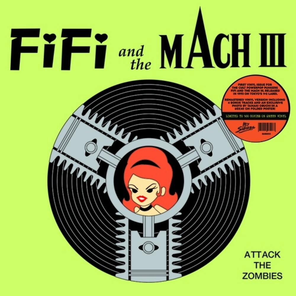 Fifi & The Mach 3 - Attack Of The Zombies [Colored Vinyl] (Grn) (Can)