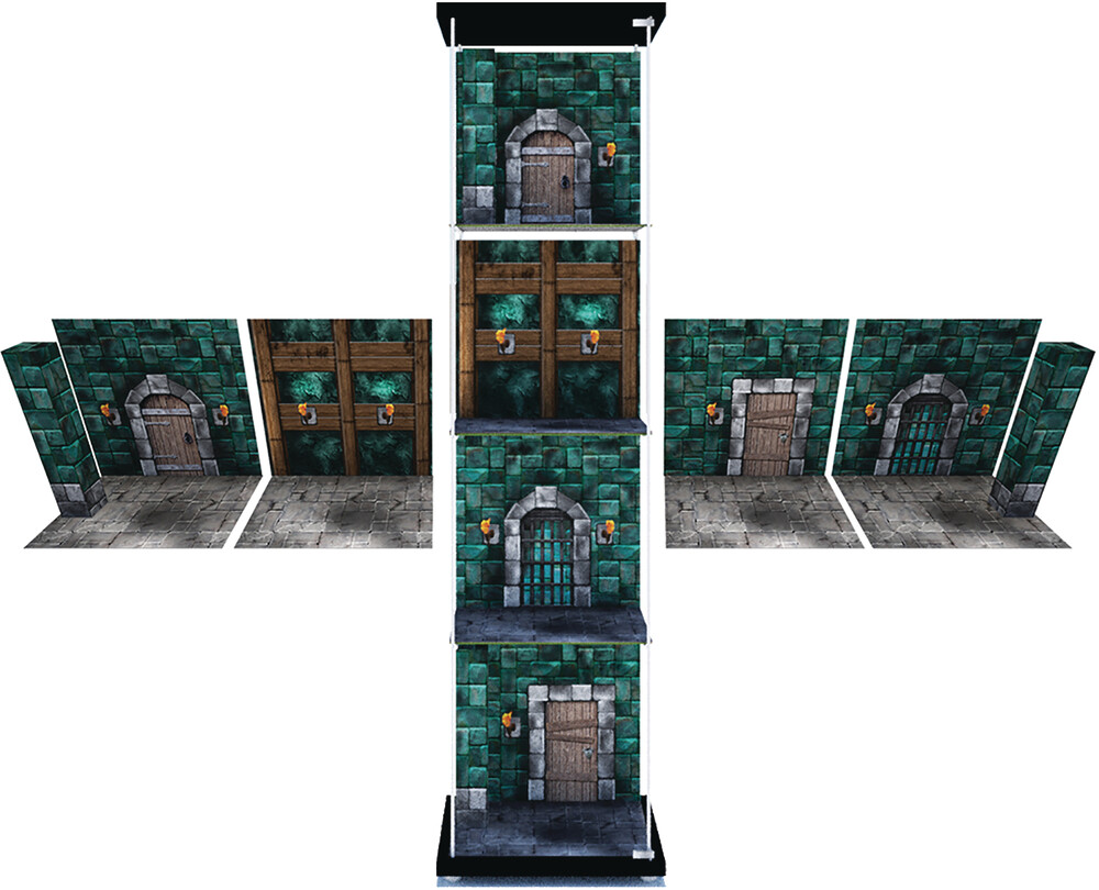 - Extreme Sets Dungeon 1/12 Scale Display Pack (Net)