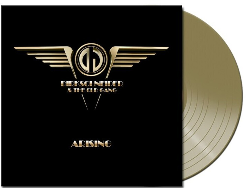 Dirkschneider & The Old Gang - Arising (Gold Vinyl) [Colored Vinyl] (Gol) [Limited Edition] [Indie Exclusive]