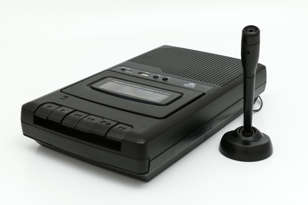 - Gpo Crs132 Table Top Cassette Recorder Usb Black