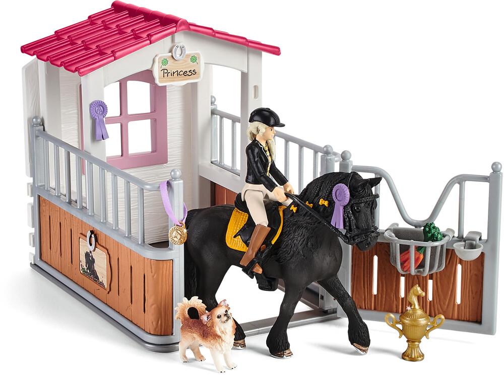 Schleich - Schleich Horse Box With Horse Club Tori & Princess