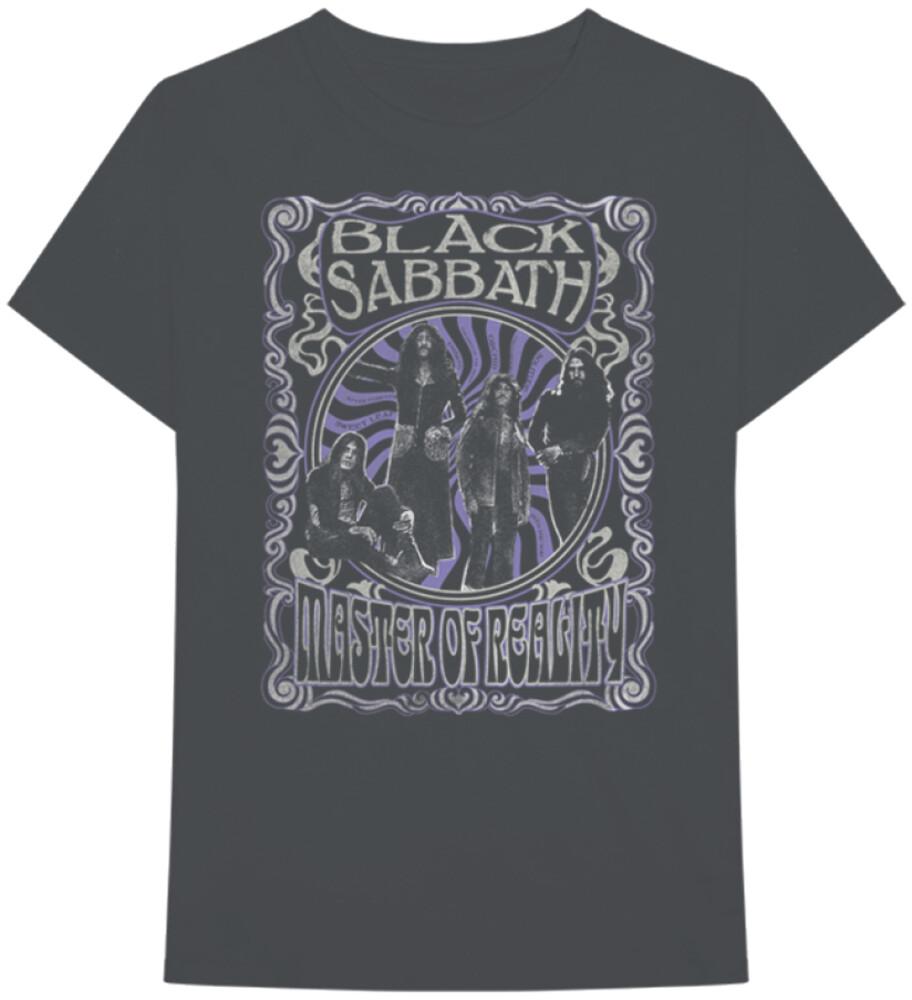 - Black Sabbath Master Of Reality Black Ss Tee M