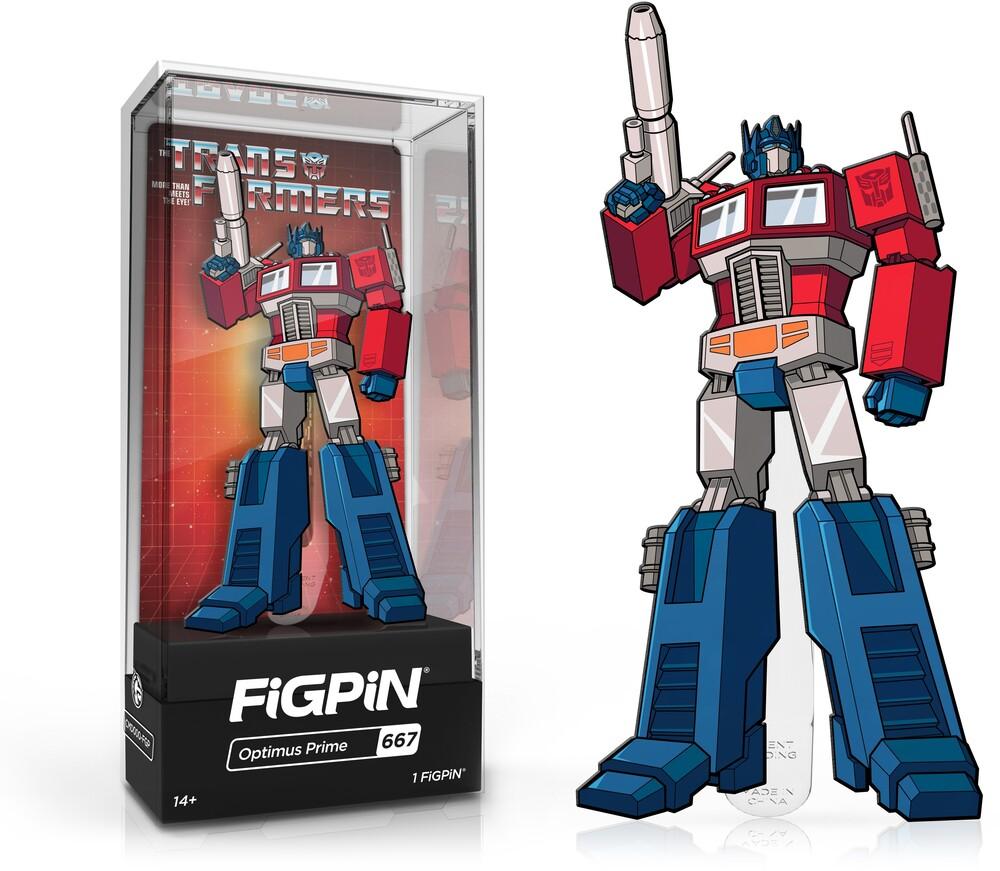 Figpin Transformers Optimus Prime #667 - Figpin Transformers Optimus Prime #667 (Clcb)