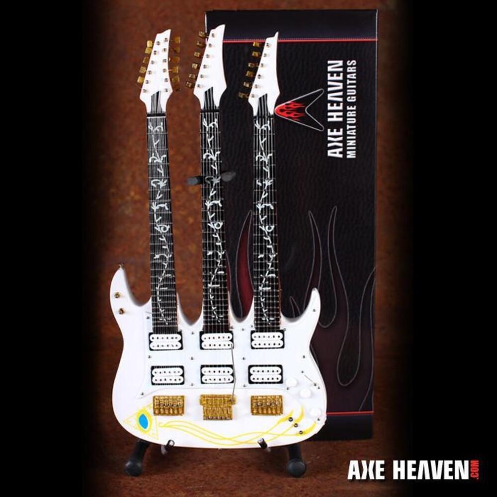 Steve Vai Ibanez Jem Triple-Neck Mini Guitar - Steve Vai Ibanez Jem Triple-Neck Mini Guitar (Fig)