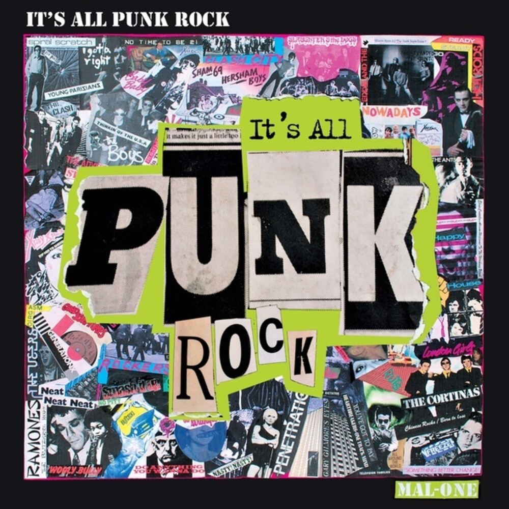 Mal-One - It's All Punk Rock (Wsv) (2pk)