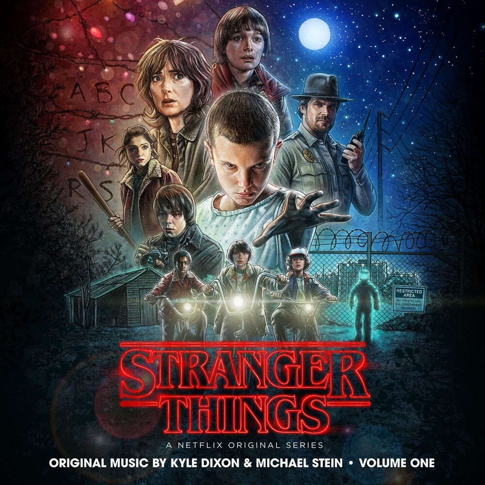 Kyle Dixon & Michael Stein - Stranger Things, Vol. 1 (A Netflix Original Series Soundtrack) [Interdimensional Blue 2LP]
