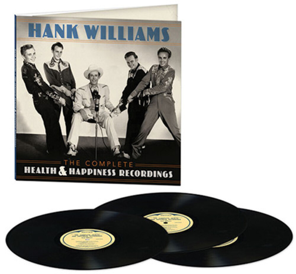 Hank Williams - The Complete Health & Happiness Recordings [LP]