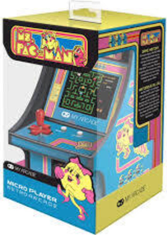 - My Arcade DGUNL-3230 MS. Pac-Man COLLECTIBLE RETRO MICRO PLAYER