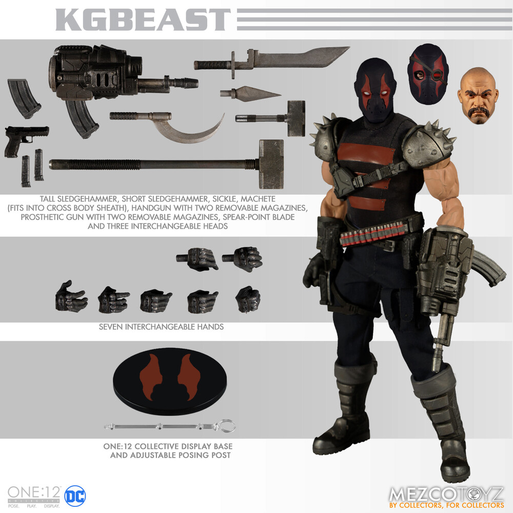 One:12 Collective Kgbeast - Mezco One:12 Collective KGBeast