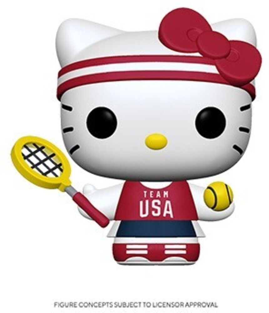 Funko Pop! Sanrio: - FUNKO POP! SANRIO: Hello Kitty Sports Team USA - Tennis Hello Kitty