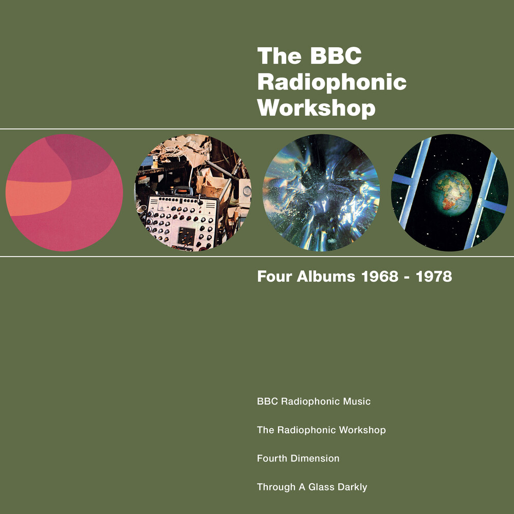 Bbc Radiophonic Workshop - Four Albums 1968 - 1978 [Indie Exclusive]