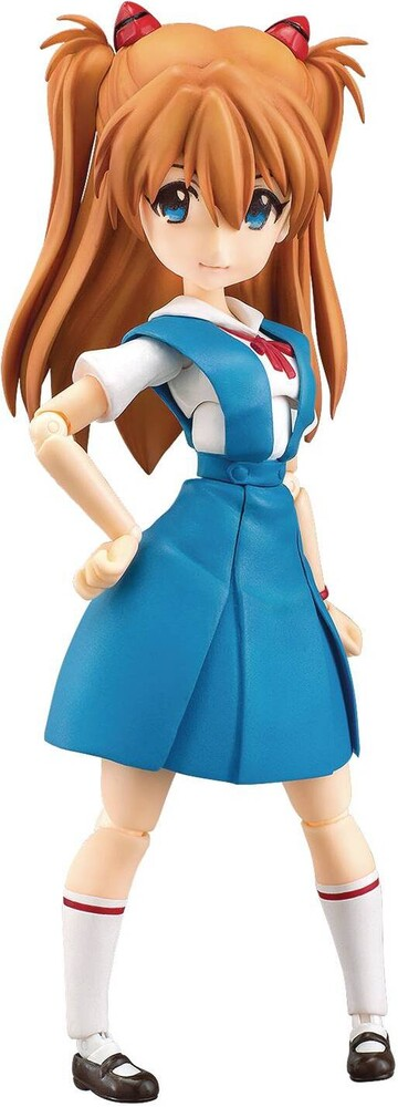 Good Smile Company - Good Smile Company - Rebuild Evangelion Parform Asuka Shikinami Action Figure School Version