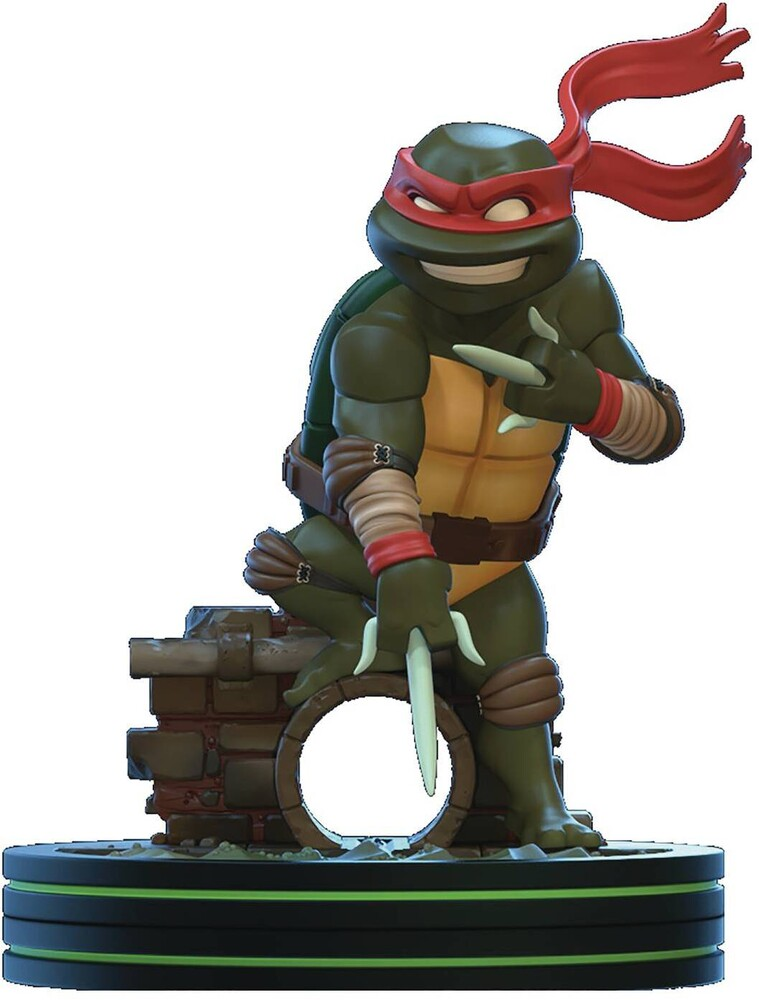 - Quantum Mechanix QMx - Teenage Mutant Ninja Turtles TMNT - Raphael Q-Fig
