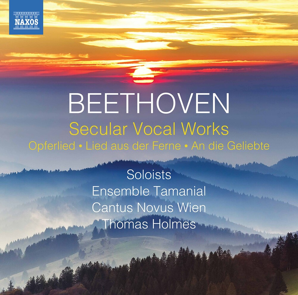 Beethoven / Ensemble Tamanial / Holmes - Secular Vocal Works