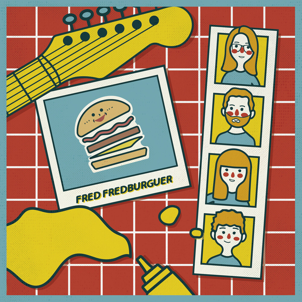 Fred Fredburguer - Fred Fredburguer (10in) (Blue) (Ltd) (Dlcd)