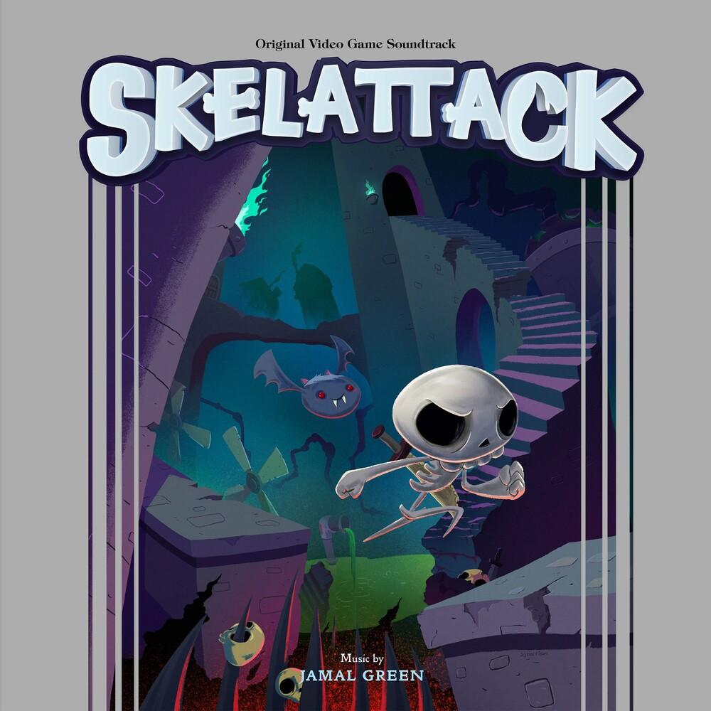 Jamal Green Blk Ogv - Skelattack (Blk) (Ogv)