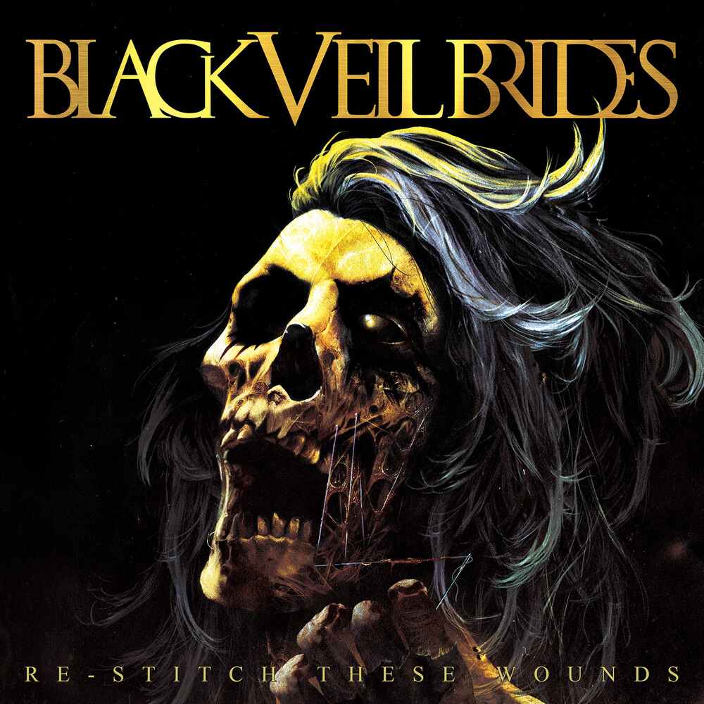 Black Veil Brides - Re-Stitch These Wounds [Ultra Clear w/ Neon Yellow & Black Splatter LP]